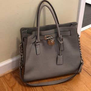 Micheal kors large Hamilton bag